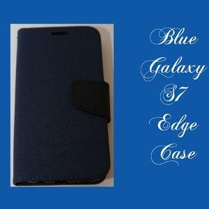 Galaxy S7 Edge Blue Case